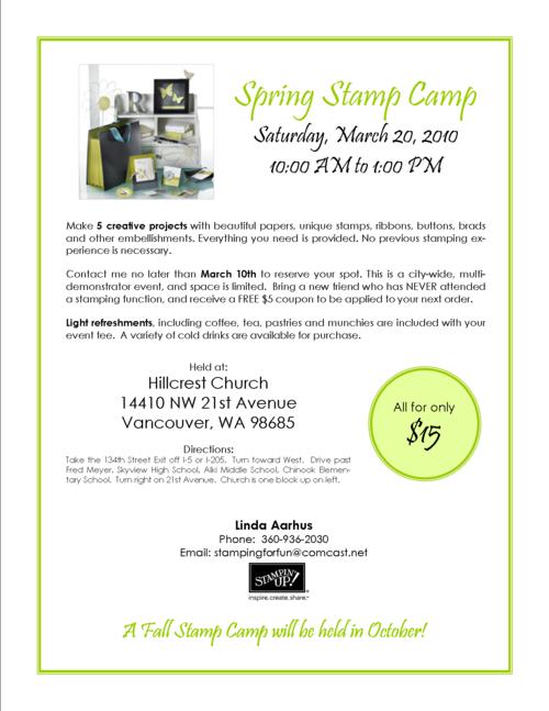 Spring Stamp Camp-L