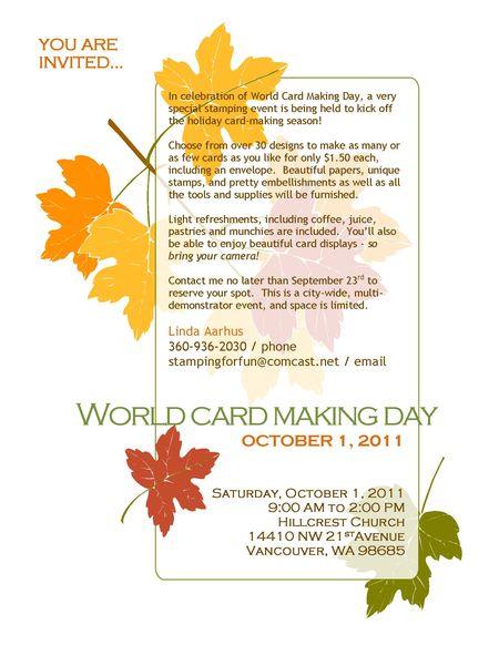 2011 WCMD Blog Flyer