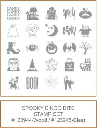 Spooky stamp set