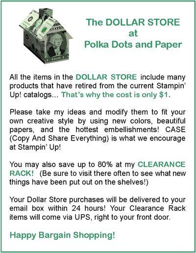 Dollar Store Intro