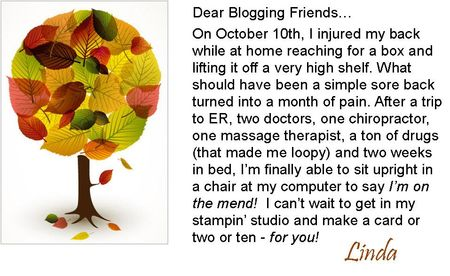 Dear blogging friends