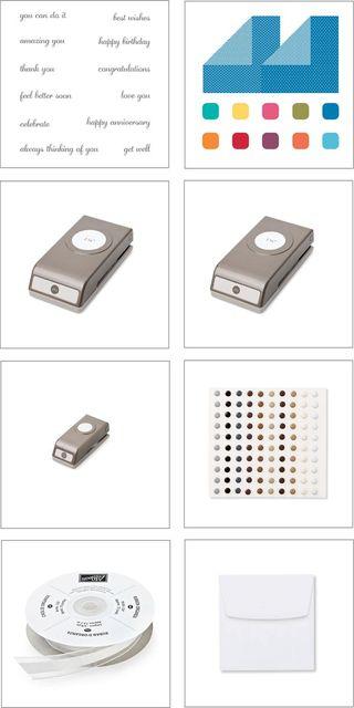 Mini Card Kit Supplies