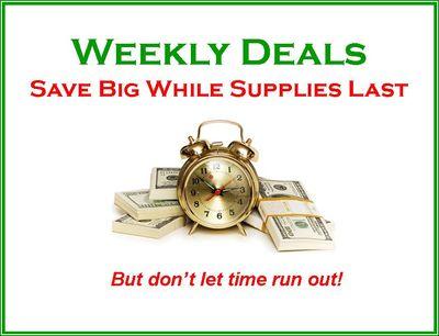 Weekly Deals - no date