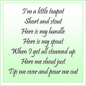 Teapot Song