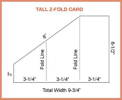 Tall Z-Fold Card