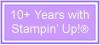 10+ Years-lavender