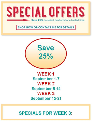 Special Offers Week 3