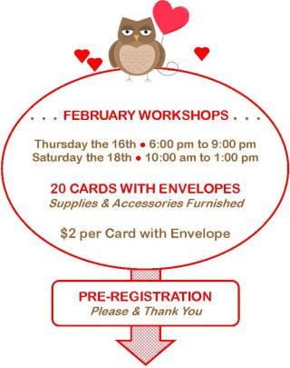 Feb Workshops