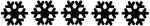 Snowflakes line