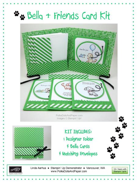 Bella & Friends Card Kit