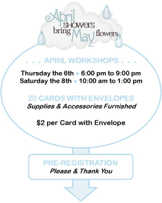 April Workshops