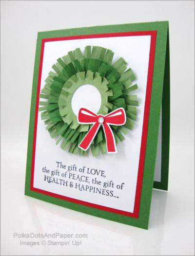 Fringe Scissor Wreath