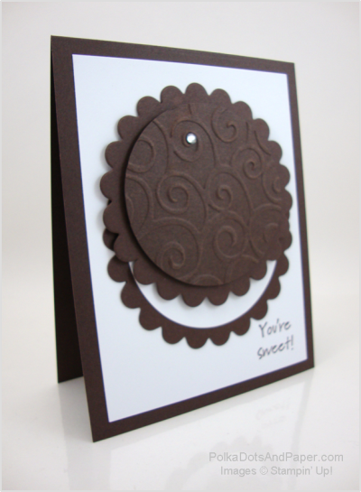 Oreo Cookie Card
