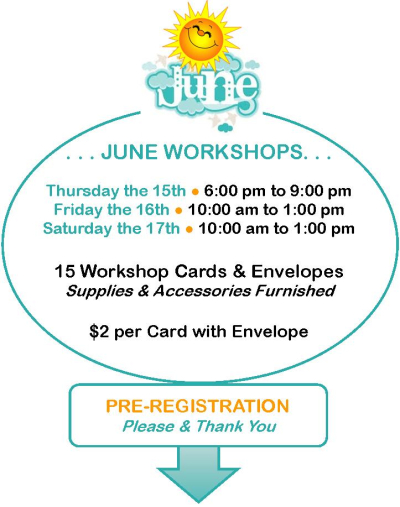 June Workshops