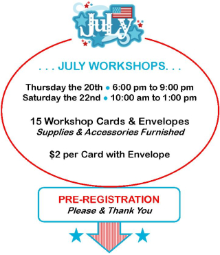 July Workshops