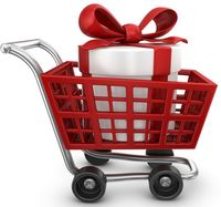 Cart with Gift