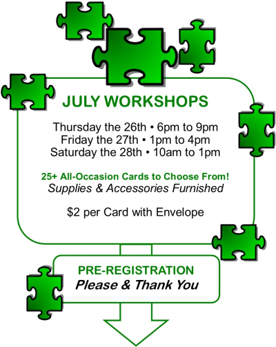 July Workshops-U