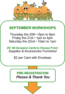 Sept Workshops