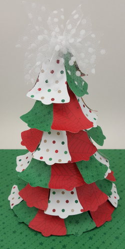 Pretty Paper Bell Tree