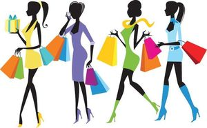 4-Girls Shopping