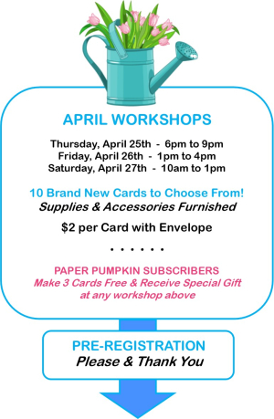 2019 April Workshop