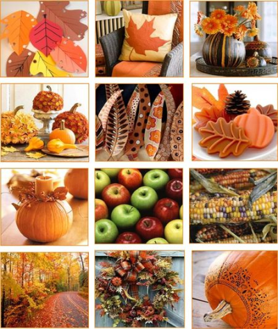 Autumn on my pinterest page