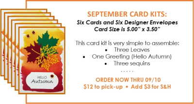 NL September Card Kit