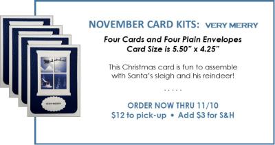 NL November Card Kit