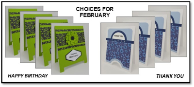 Choices for Feb