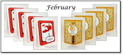 February Card Kits To Go