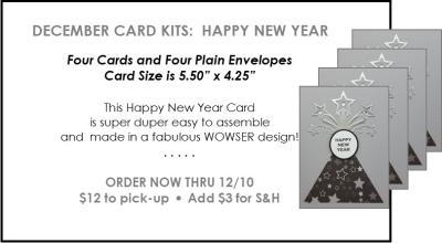 NL Deceember Card Kit